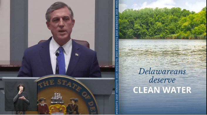 John Carney Announcing Major Investments in Clean Water